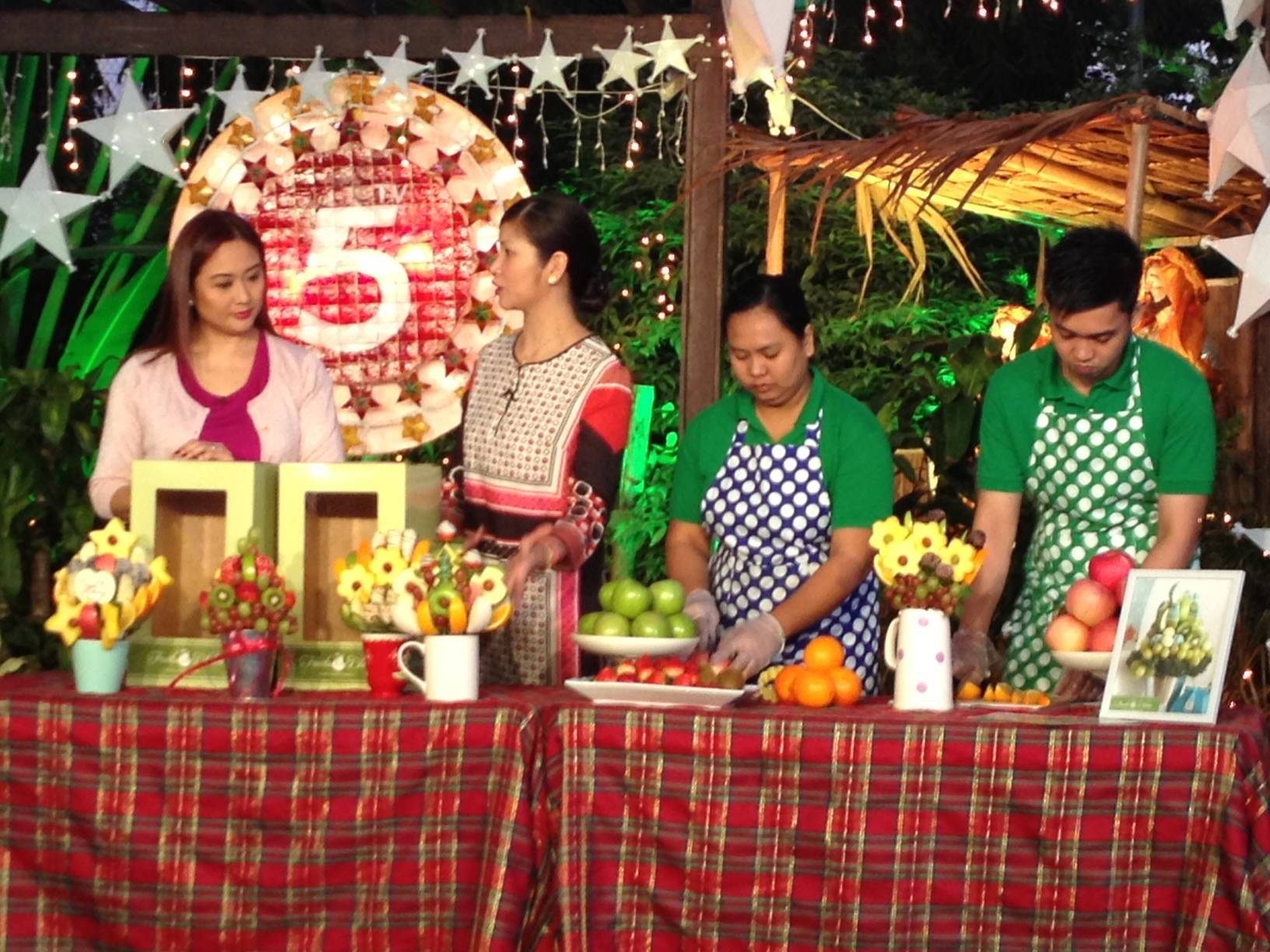 Fruits in Bloom at TV5